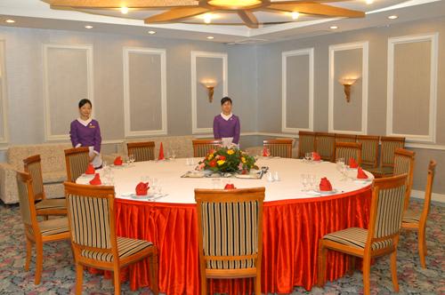 东楼宴会包厢玫瑰厅